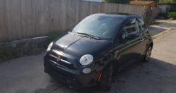 Fiat 500e Čierny 2013 #679
