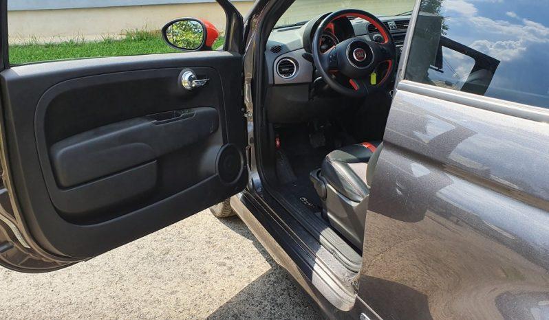 Fiat 500e Sivý 2015 #542 full