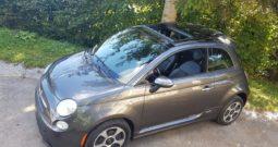 Fiat 500e Sivý 2014 #444