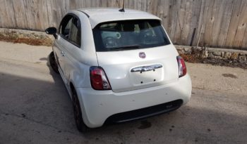 Fiat 500e Biela Perleť 2017 #982 full