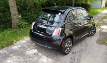 Fiat 500e Čierny 2014 #744    Model 2015 full